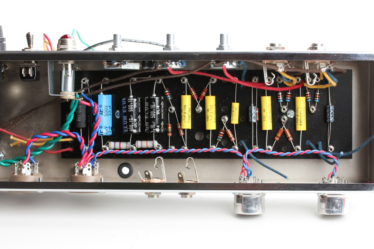 Tweed Deluxe 5e3 Diy Output Transformer Wiring Diagram I Started The Internal With Heaters Following Hoffman Amplifiers Guidelines Having Encountered Difficulties Before Twisted Cloth Covered