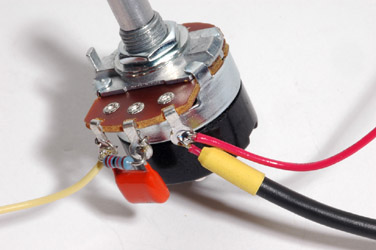 Attack Pot with Shielded Cable and Red Wire
