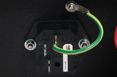 IEC Ground Pin to Chassis