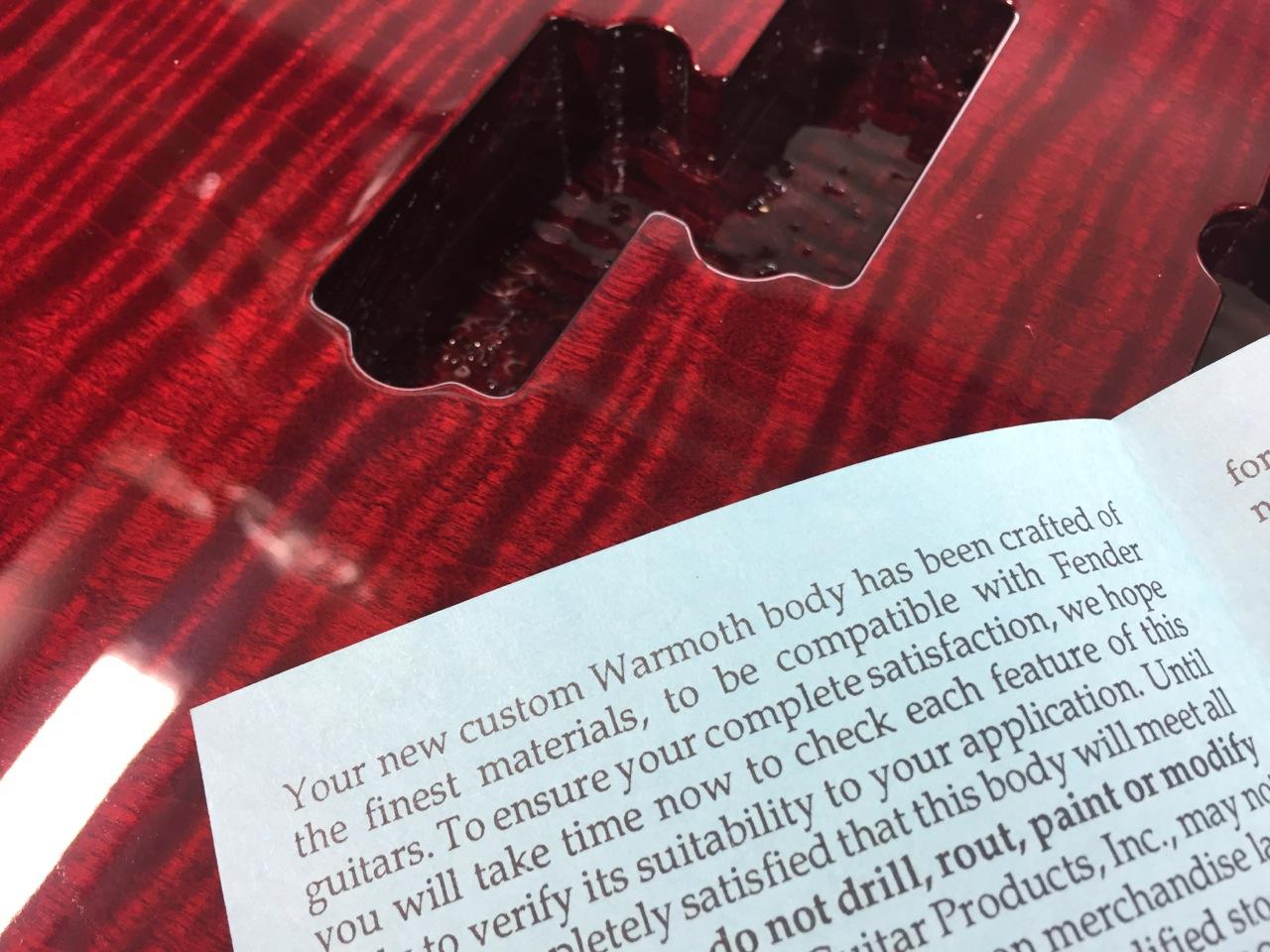 Warmoth Medium Scale Bass Build