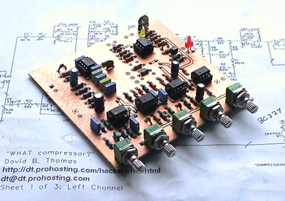 What Compressor? Printed Circuit Board
